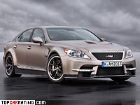 2012 Lexus LS 460 TMG Sports 650 = 320 kph, 650 bhp, 3.9 sec.