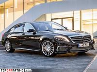 2014 Mercedes-Benz S 65 AMG (W222) = 300 kph, 630 bhp, 4.3 sec.