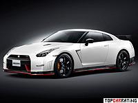 2014 Nissan GT-R Nismo = 320 kph, 599 bhp, 2.6 sec.