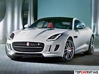 2014 Jaguar F-Type R Coupe = 300 kph, 550 bhp, 4 sec.