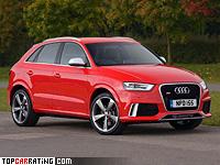 2013 Audi RS Q3 = 250 kph, 310 bhp, 5.2 sec.