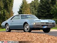 1966 Oldsmobile Toronado = 209 kph, 385 bhp, 8.5 sec.