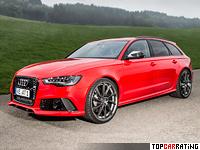 2013 Audi RS6 Avant ABT Sportsline = 320 kph, 700 bhp, 3.4 sec.