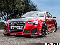 2013 Audi RS5-R Coupe ABT Sportsline = 303 kph, 470 bhp, 4.3 sec.