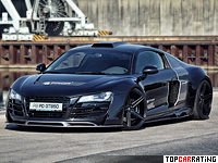 2013 Audi R8 PD GT850 Prior Design = 320 kph, 565 bhp, 3.5 sec.
