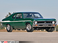 1969 Chevrolet Yenko Nova 427 = 220 kph, 425 bhp, 5.7 sec.