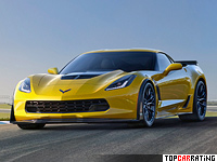 2014 Chevrolet Corvette Stingray Z06 (C7) = 330 kph, 630 bhp, 3.2 sec.