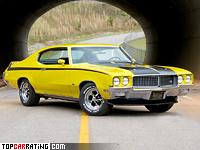 1970 Buick GSX 455 = 181 kph, 350 bhp, 6.4 sec.