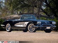 1958 Chevrolet Corvette V8 (C1) = 214 kph, 290 bhp, 7.1 sec.