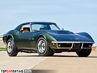 1969 Chevrolet Corvette Stingray L88 427 Coupe (C3) = 245 kph, 430 bhp, 6 sec.