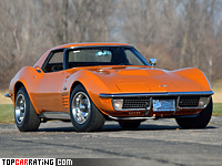 1971 Chevrolet Corvette Stingray ZR-2 LS6 454 (C3) = 243 kph, 430 bhp, 5.5 sec.
