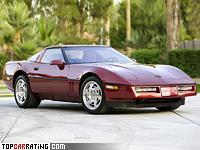 1990 Chevrolet Corvette ZR1 Coupe (C4) = 274 kph, 409 bhp, 5 sec.
