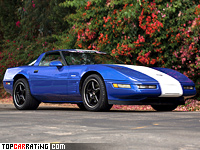1996 Chevrolet Corvette Grand Sport Coupe (C4) = 266 kph, 335 bhp, 5.4 sec.