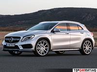 2015 Mercedes-Benz GLA 45 AMG (X156) = 250 kph, 360 bhp, 4.8 sec.