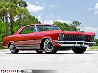 1965 Buick Riviera Gran Sport = 205 kph, 360 bhp, 8.1 sec.
