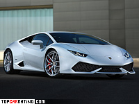 2014 Lamborghini Huracan LP610-4 = 325 kph, 610 bhp, 3.2 sec.