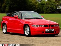 1989 Alfa Romeo S.Z. (162C) = 245 kph, 210 bhp, 7 sec.