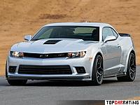 2014 Chevrolet Camaro Z/28 = 300 kph, 505 bhp, 4.2 sec.
