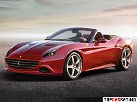 2014 Ferrari California T = 316 kph, 560 bhp, 3.6 sec.