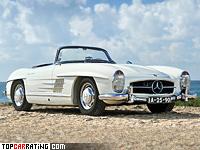 1957 Mercedes-Benz 300 SL Roadster (R198) = 211 kph, 212 bhp, 7.6 sec.