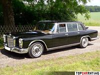 1964 Mercedes-Benz 600 (W100) = 203 kph, 250 bhp, 9.9 sec.