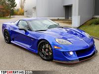2009 Chevrolet Corvette GTR Specter Werkes = 330 kph, 615 bhp, 3.5 sec.