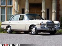 1967 Mercedes-Benz 300 SEL 6.3 (W109) = 220 kph, 250 bhp, 7.4 sec.
