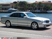 1999 Mercedes-Benz E 55 AMG 4Matic (W210) = 250 kph, 357 bhp, 5.8 sec.