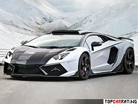 2014 Lamborghini Aventador LP1600-4 Mansory Carbonado GT = 370 kph, 1600 bhp, 2.1 sec.