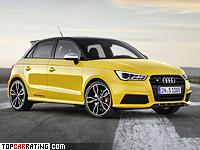 2014 Audi S1 Sportback = 250 kph, 231 bhp, 5.9 sec.