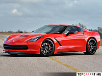 Chevrolet Corvette Stingray Hennessey HPE700 Twin Turbo 6.2 litre V8 RWD 2014