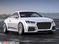 2014 Audi TT quattro sport concept = 300 kph, 420 bhp, 3.7 sec.