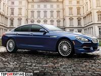 2014 BMW Alpina B6 Bi-Turbo GranCoupe (F06) = 318 kph, 540 bhp, 3.9 sec.