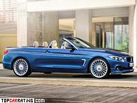 2014 BMW Alpina B4 Bi-Turbo Cabrio (F33) = 301 kph, 410 bhp, 4.5 sec.