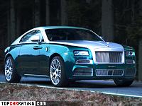 2014 Rolls-Royce Wraith Mansory = 300 kph, 740 bhp, 4.4 sec.