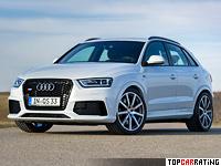 2014 Audi RS Q3 MTM = 268 kph, 424 bhp, 4.8 sec.