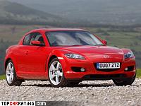 2003 Mazda RX-8 = 235 kph, 238 bhp, 6.3 sec.