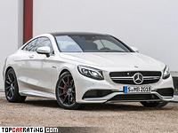 2014 Mercedes-Benz S 63 AMG Coupe 4Matic (C217) = 250 kph, 585 bhp, 3.9 sec.