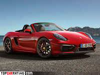 2014 Porsche Boxster GTS (981) = 279 kph, 330 bhp, 4.7 sec.