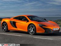 2014 McLaren 650S = 338 kph, 650 bhp, 3.2 sec.