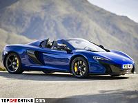 2014 McLaren 650S Spider = 335 kph, 650 bhp, 3.3 sec.