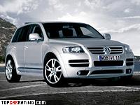 2005 Volkswagen Touareg W12 Sport = 250 kph, 450 bhp, 5.9 sec.