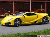 2013 GTA Spano = 370 kph, 925 bhp, 2.9 sec.