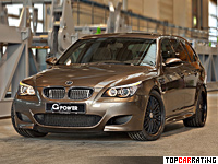 BMW M5 Touring G-Power Hurricane RR 5 litre V10 RWD 2014
