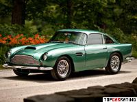 1961 Aston Martin DB4 GT = 246 kph, 302 bhp, 5.7 sec.