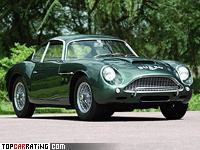 1960 Aston Martin DB4 GTZ = 252 kph, 314 bhp, 5.7 sec.