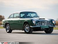 1969 Aston Martin DB6 Vantage (MkII) = 255 kph, 330 bhp, 6.4 sec.