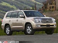 2007 Toyota Land Cruiser 200 V8 = 200 kph, 288 bhp, 9.2 sec.