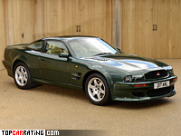 1993 Aston Martin Vantage = 310 kph, 550 bhp, 4.6 sec.