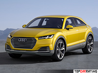2014 Audi TT offroad concept = 250 kph, 408 bhp, 5.2 sec.